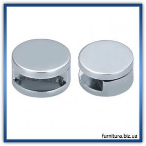 Дистанционное кpепление для зеркал и табличек без сверления, хром