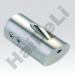 Кріплення труби стіна-скло, HDL