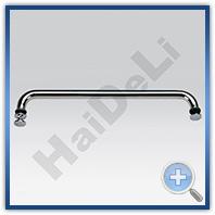Ручка-полотенцесушитель для скляних дверей